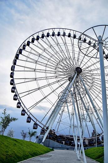 Wheel of fortune in Puebla City