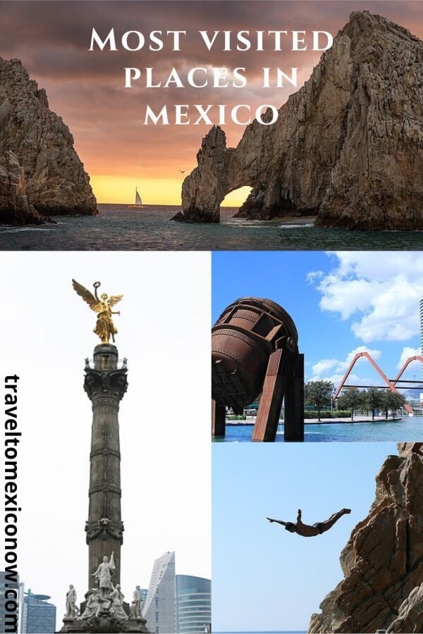 Most visited places in Mexico