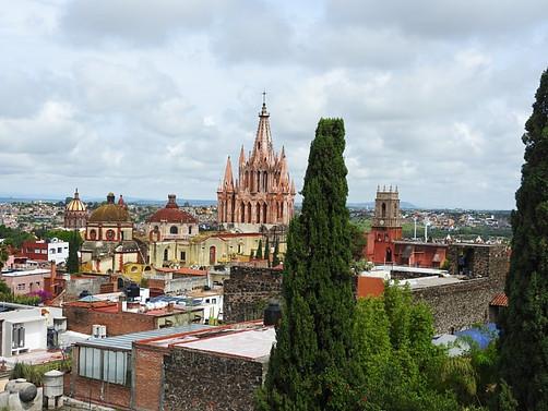 Skyline of San MIguel de Allende.
