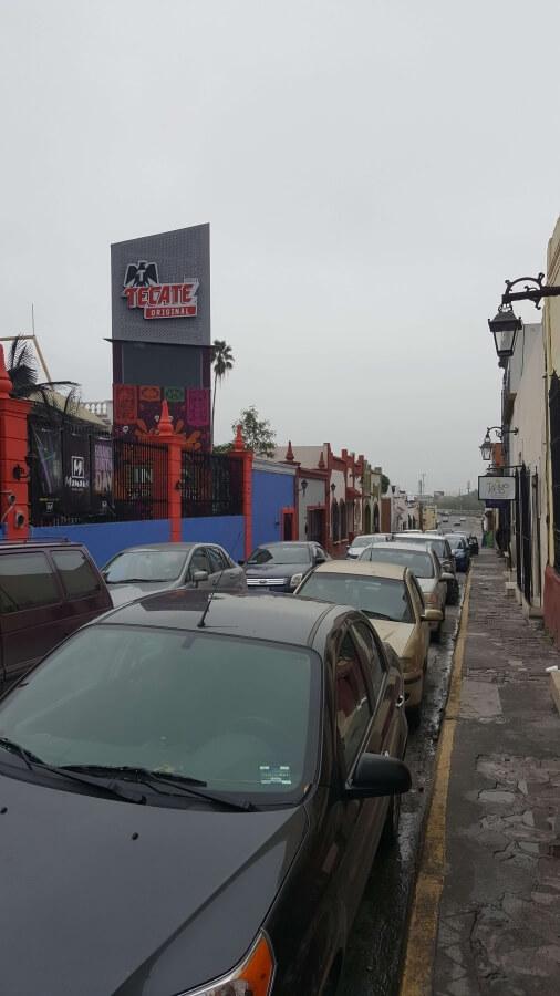 Bars at Barrio Antiguo.