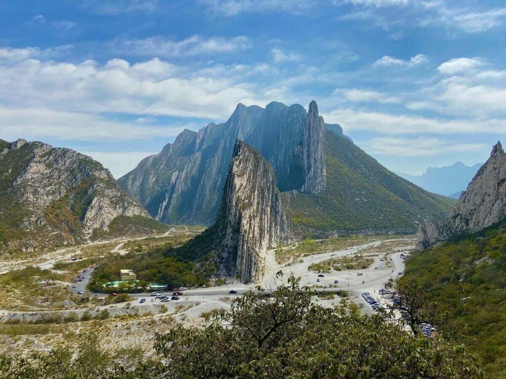 La Huasteca Canyon in Monterrey.