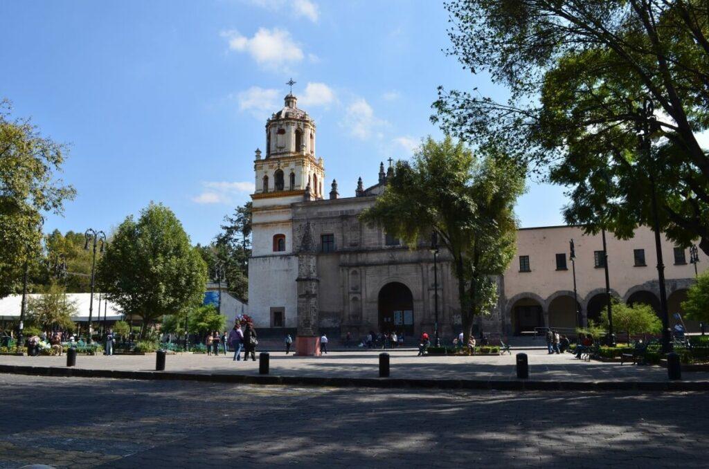 Church in Coyoacan, Mexico City.