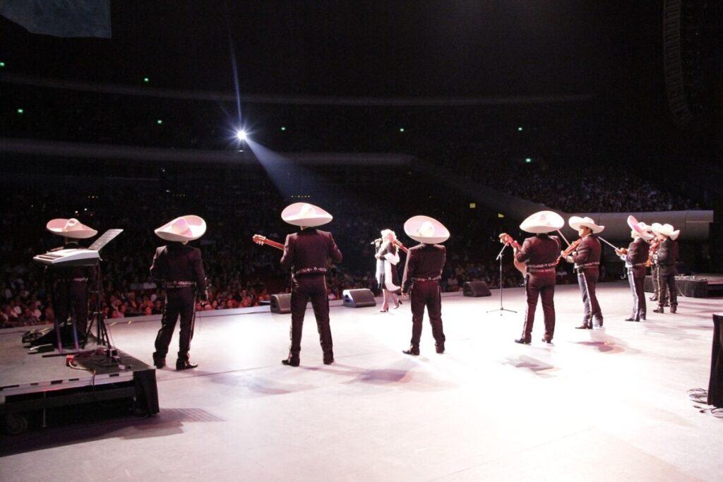 Mariachi performin at Auditorio Nacional