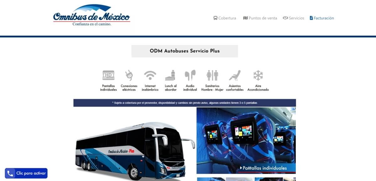 Omnibus de Mexio home page.