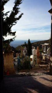 Real de Catorce cemetery.