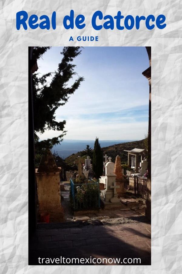 Cemetery of Real de Catorce.