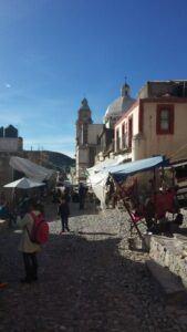 Street of Real de Catorce.
