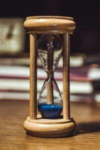 Brown hourglass