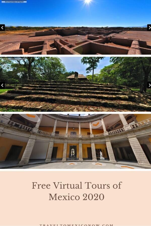 Free Virtual Tours of Mexico 2020