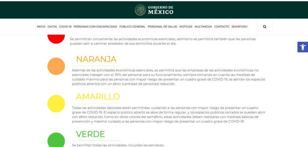 Mexico COVID-19 scale