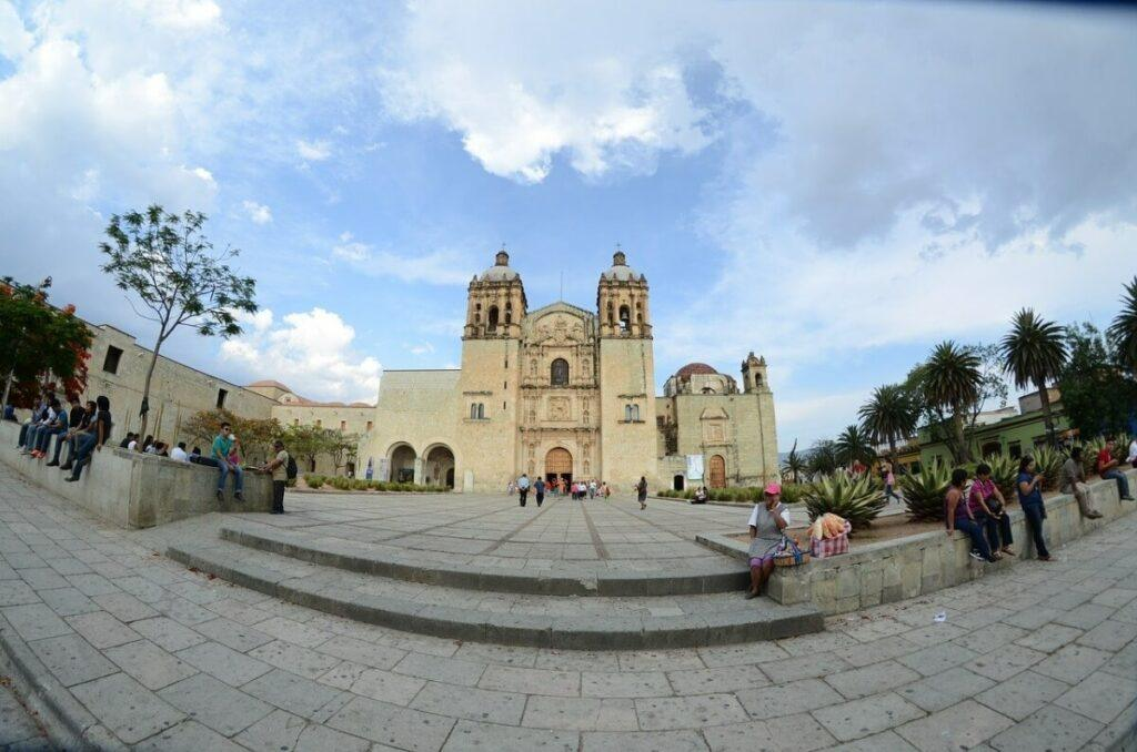 Templo de Santo Domingo in Oaxaca.