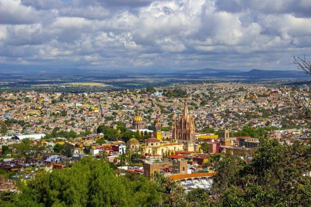 San Miguel de Allende landscape.