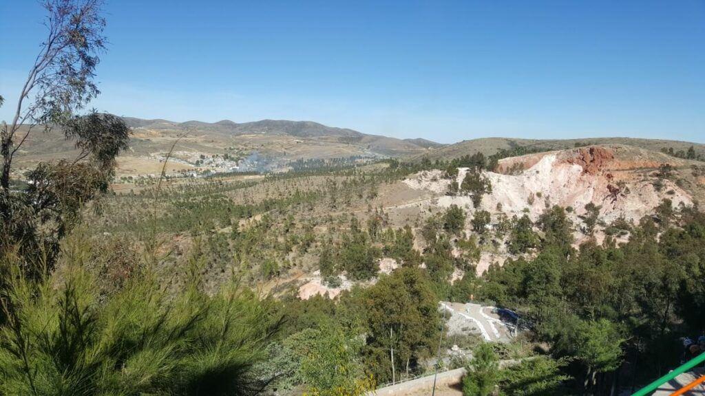 View from atop the Cerro de la Bufa.