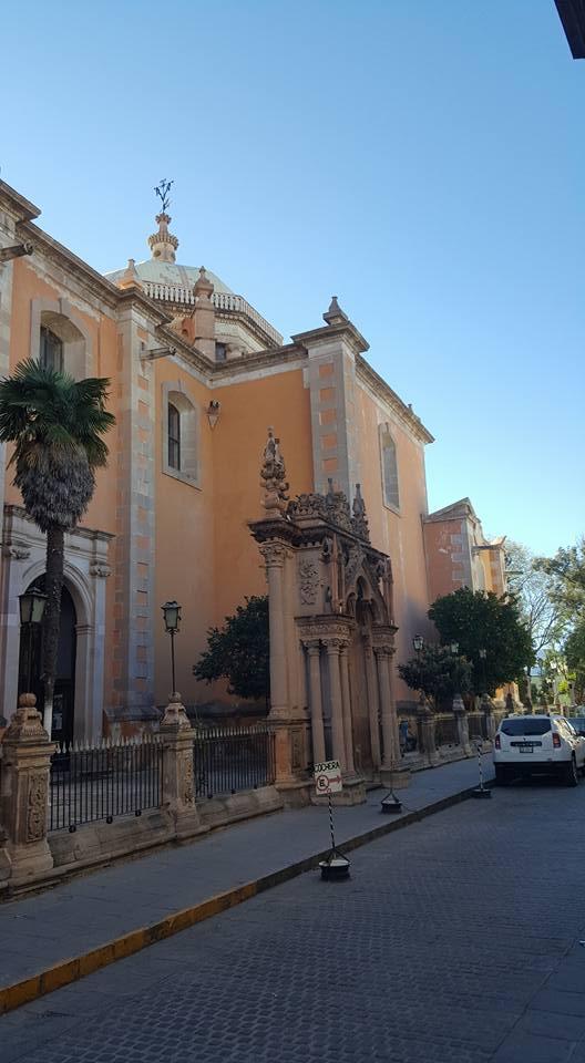 Old church in Jerez, Zacatecas.