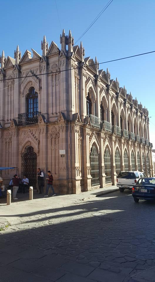 Old building in Jerez, Zacatecas.