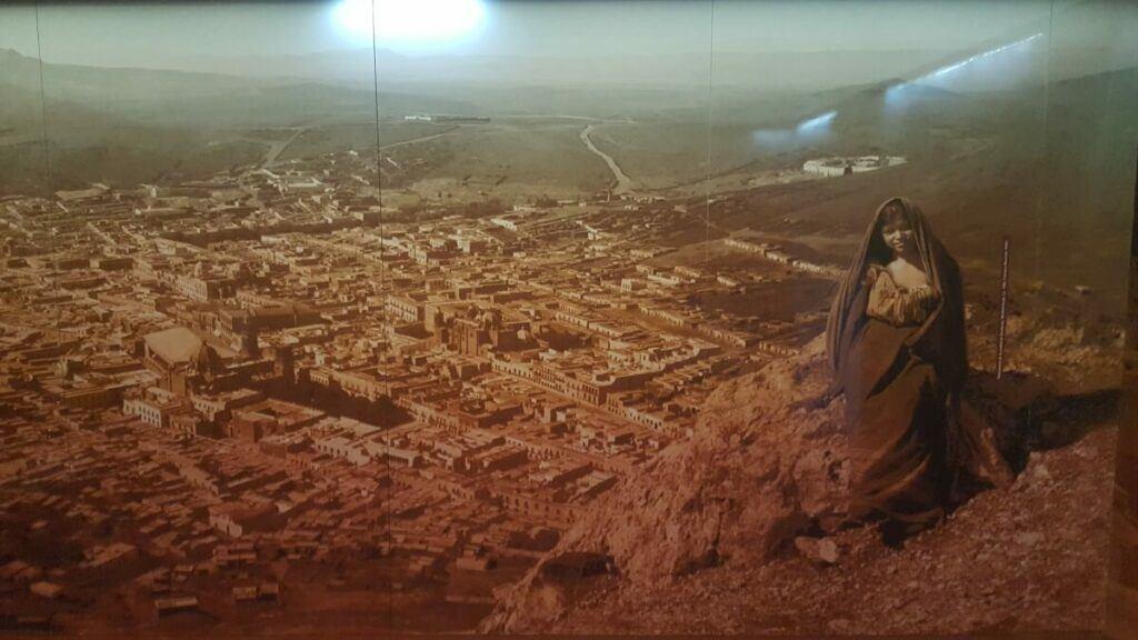Photo at the Zacatecas Museum.
