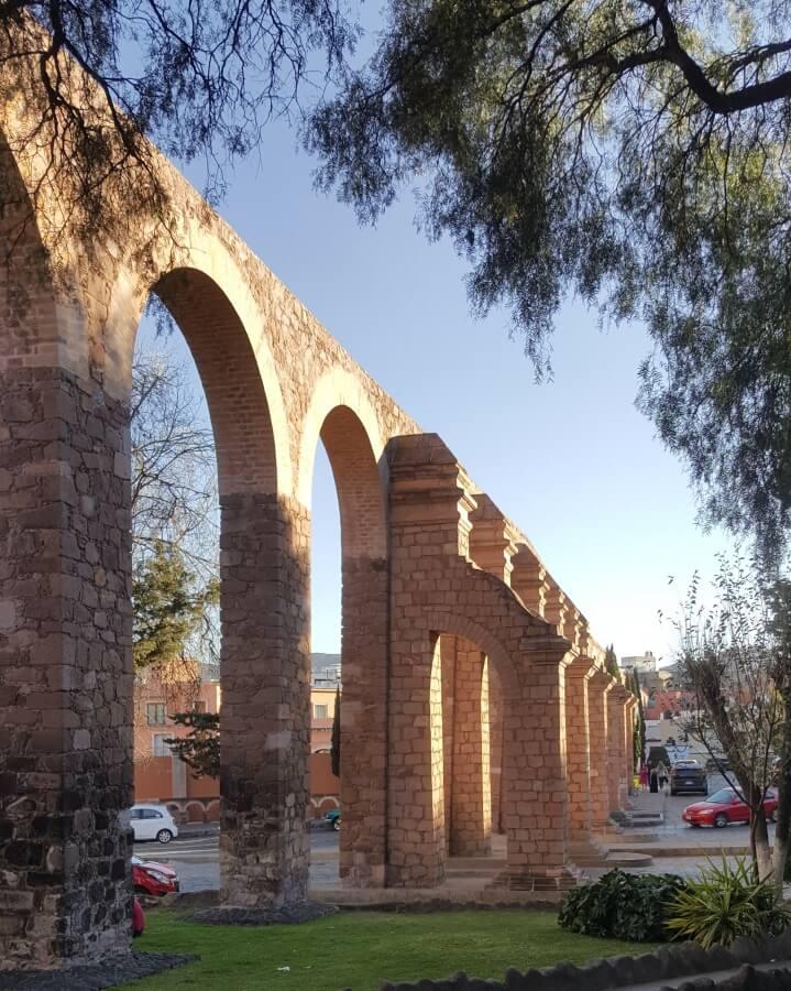Zacatecas aqueduct.