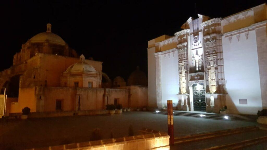 Zacatecas City Center at night.