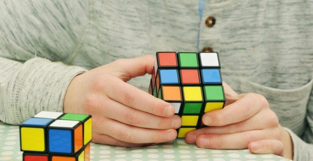 A magic cube.